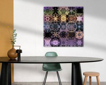 Patroonmix Mandala van Sabine Wagner
