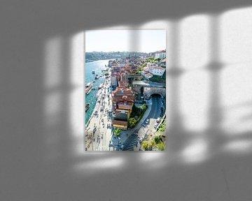 Porto von oben: Stadt am Fluss von The Book of Wandering