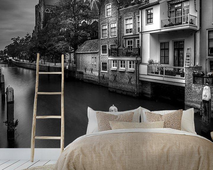 Sfeerimpressie behang: Dordtse Minster van Jens Korte