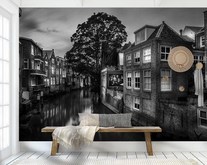 Sfeerimpressie behang: Dordrecht van Jens Korte
