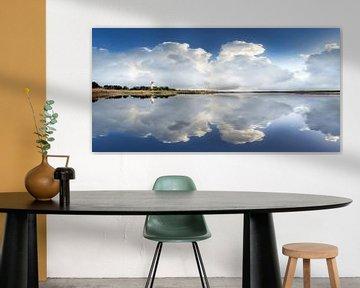 Vuurtoren op het eiland Fehmarn van Voss Fine Art Fotografie