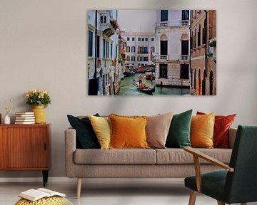 Diese Welt - Blick auf den Venedig-Kanal von Loretta's Art