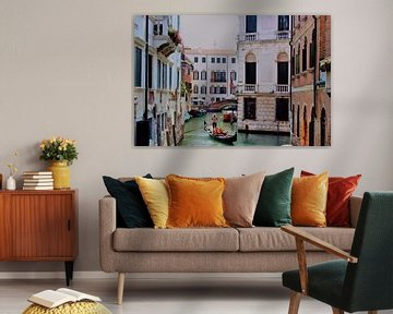 Ce monde - Vue sur le canal de Venise