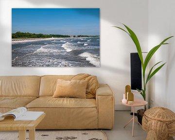 Strandpanorama Boltenhagen von Peter Baier