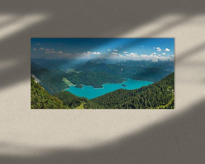 Beispiel: Walchensee mit Karwendelgebirge, Bayern, Deutschland von Markus Lange