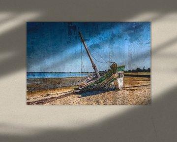 Lost boat von Frans Nijland