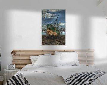 Lost fishing boat von Frans Nijland