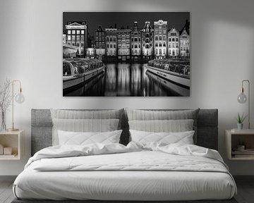 Amsterdam bei Nacht von Bjorn Renskers