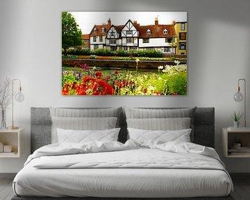 Maison près des jardins de Westgate - Canterbury, Angleterre sur Loretta's Art
