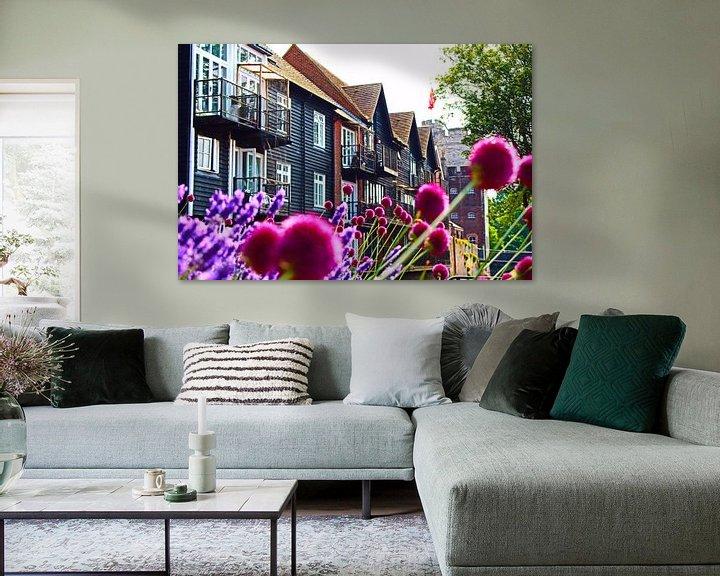 Sfeerimpressie: Briljante zomer - Canterbury, Engeland van Loretta's Art
