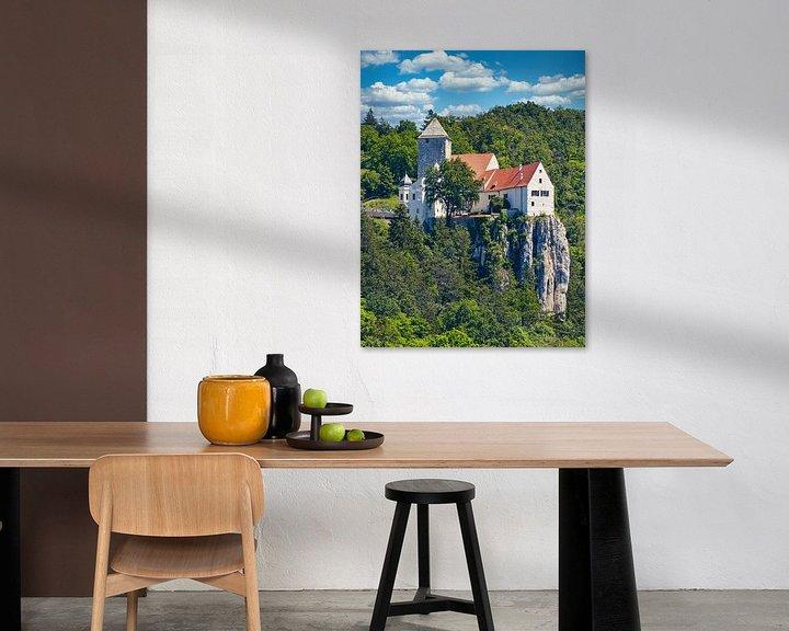 Beispiel: Burg Prunn von Einhorn Fotografie