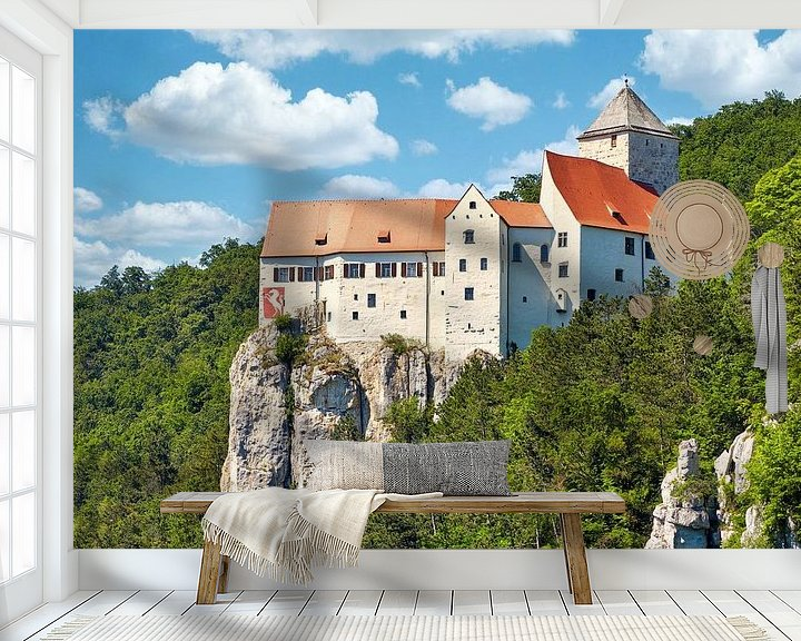 Beispiel fototapete: Burg Prunn von Einhorn Fotografie