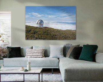 Observatorium op La Palma van Angelika Stern
