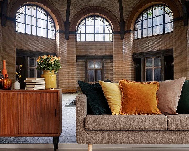 Beispiel fototapete: Verlassenes Badehaus in Beelitz. von Roman Robroek