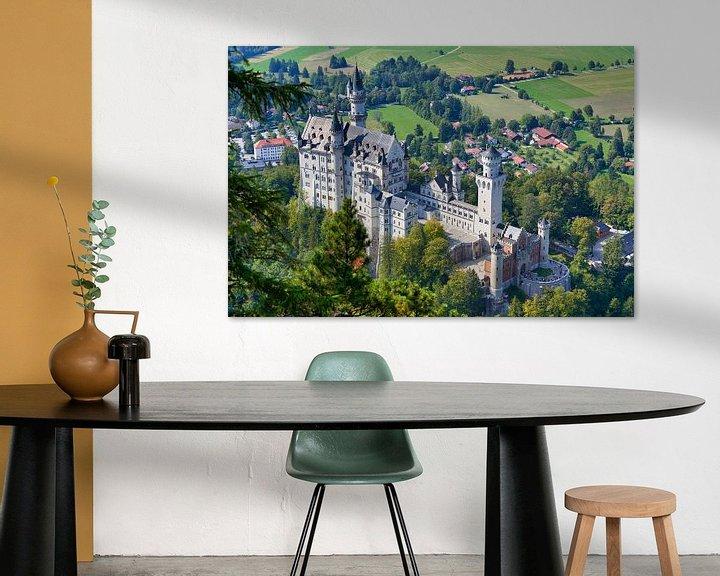 Beispiel: Schloss Neuschwanstein von Einhorn Fotografie
