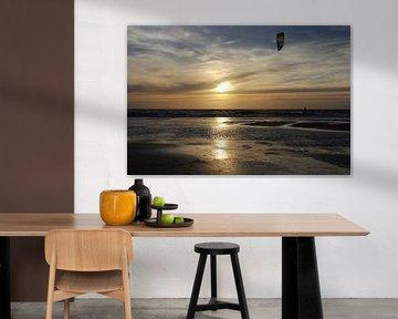 The Lonely kitesurfer van Bert - Photostreamkatwijk