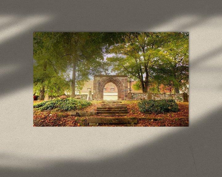 Impression: Lumière dans le cimetière, automne sur Tobias Majewski