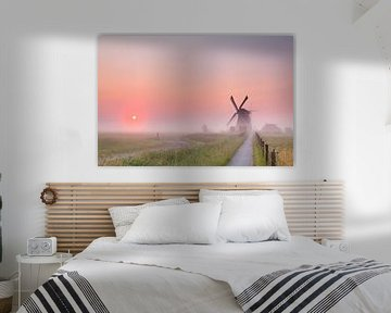 Way to the windmill van Olha Rohulya