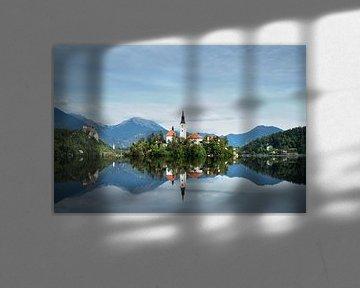 Lac de Bled sur Truus Nijland
