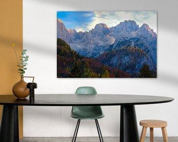 Les montagnes de Kranjska Gora sur Truus Nijland