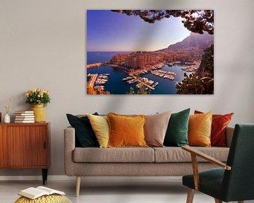 Monaco, Port de Fontvieille van Tobias Majewski