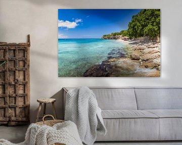 strand curacao | playa kalki | Westpunt curacao van Eiland-meisje