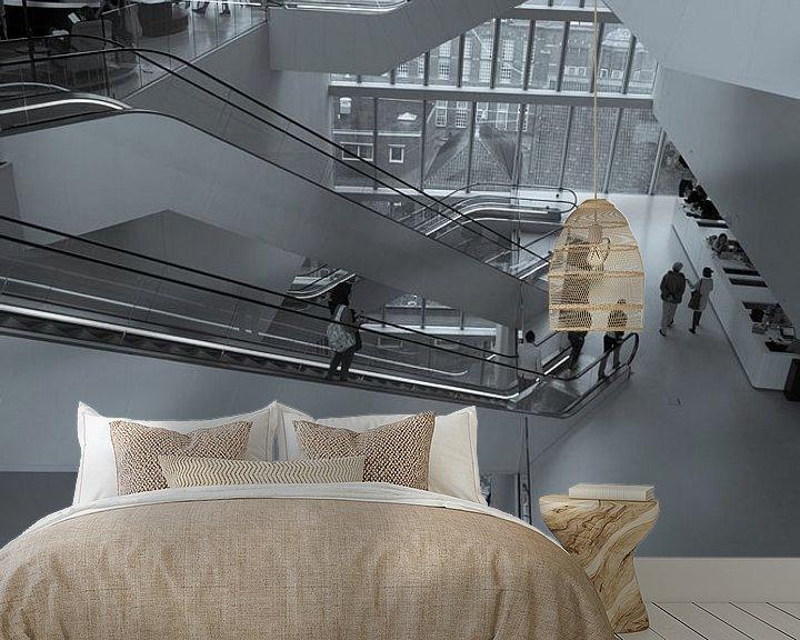 Sfeerimpressie behang: het Forum Groningen 01 van Andre Klooster