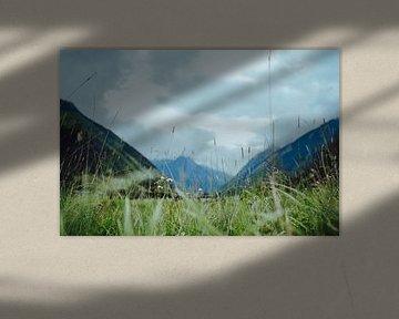Österreichische Berglandschaft von Eva Ruiten