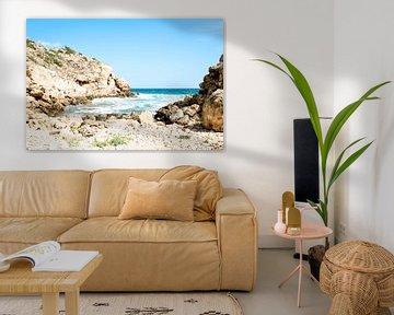Ibiza strand van Djuli Bravenboer