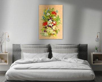 Tasmanische Wildblumen von Zeger Knops