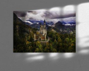 Kasteel Neuschwanstein van Peet de Rouw