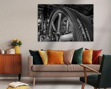 stoommachine industrie fabriek 2 van Martin Albers Photography