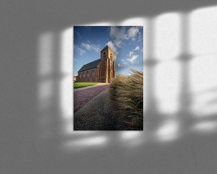Sfeerimpressie: Catharinakerk Zoutelande van Thom Brouwer