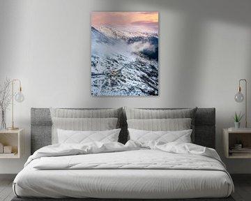 sunset on top van Sonny Vermeer