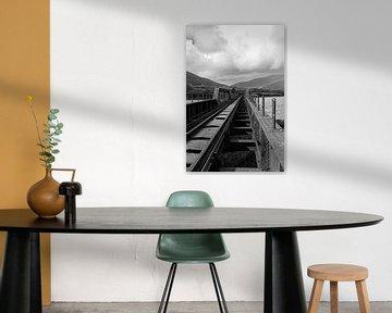 Alte Eisenbahnbrücke, Irland von Harry Traa