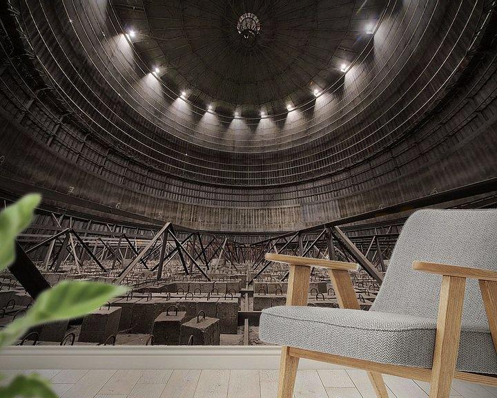 Beispiel fototapete: Ufo Factory von Marius Mergelsberg