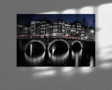 Amsterdam bei Nacht #1 von Dennis Claessens