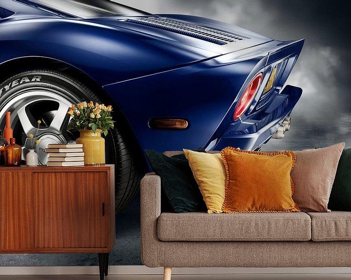 Beispiel fototapete: 2006 Ford GT '101 Edition GT40 von Thomas Boudewijn