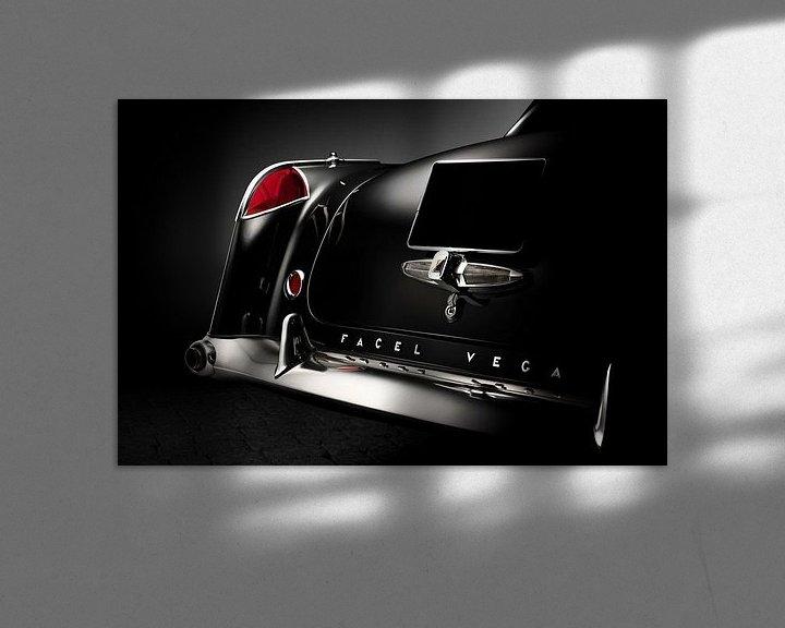 Beispiel: 1957 Facel Vega FV3 Coupe von Thomas Boudewijn