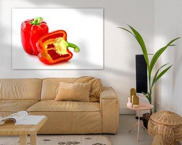 Gemüse isoliert auf weißem Hintergrund