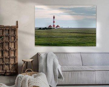 Leuchtturm Westerheversand von Alexander Wolff