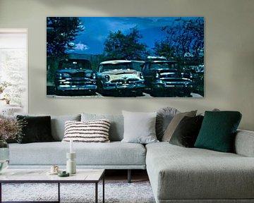 Alte amerikanische Autos von Maurice Dawson