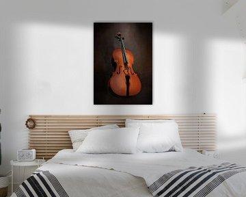 Stilleben mit Cello von Diana van Tankeren