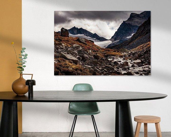 Sfeerimpressie: Silvretta gletsjer van Rob Boon