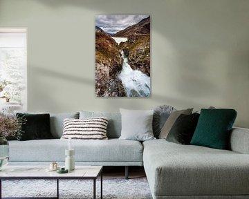 Silvretta stuwmeer van Rob Boon