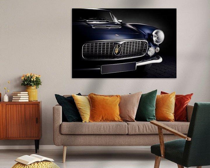 Sfeerimpressie: Maserati 3500 GT Vignale Spyder 1961 van Thomas Boudewijn