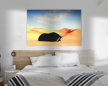 Flügel in der Wüste