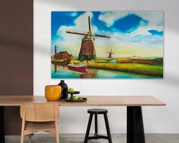 Mühlen Niederlande von David Soekana