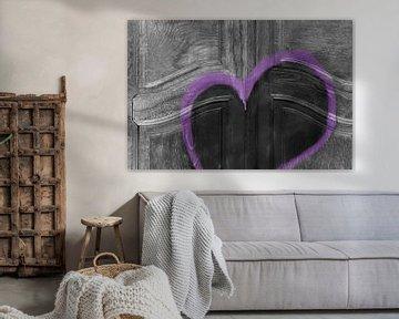 Tür mit Herz von Artstudio1622