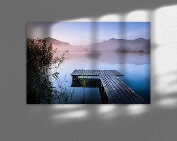 Zonsopgang bij het meer van Michael Blankennagel